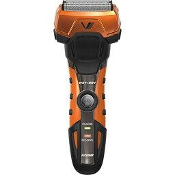 マクセルイズミ (IZUMI) 電気 シェーバー 3枚刃 往復式 電気 シェーバー グルーミングシリーズ オレンジ IZF-V738-D-EA