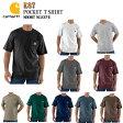 【Carhartt】K87 カーハート 半袖ポケットTシャツSHORT SLEEVE POCKET