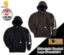 【Carhartt】K288 カーハート フードパーカーMidweight Hooded Logo Sweatshirt ミッドウェイト ロゴ