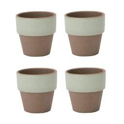 園芸 インテリア ポット アマテラポット モエギ 4号(4個セット)44004 鉢タイプ (代引き不可) ガーデン 花・観葉植物用 FARM (p45)