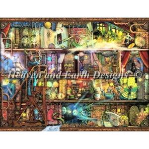 クロスステッチ刺繍図案 Heaven And Earth Designs(HAED) - Aimee Stewart - The Fantastic Voyage