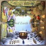 ≪クロスステッチ 刺繍キット 手作り≫ デザイン Heaven And Earth Designs(HAED) - Jacek Yerka - Four Seasons