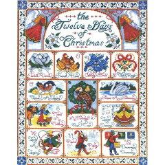 クロスステッチ刺繍キット Design Works(デザインワークス) - The Twelve Days of Christmas