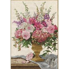 クロスステッチ刺繍キット Design Works - Symphony Bouquet II