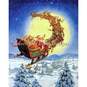クロスステッチ刺繍キット HAED(Heaven And Earth Designs) - Ruth Sanderson - Mini Merry Christmas to All