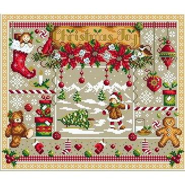 クロスステッチ刺繍図案 Shannon Christine Designs - Christmas Joy