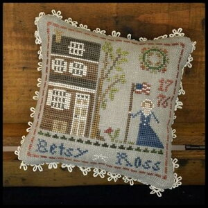 Little House Needleworks-Betsy Ross - Early Americans クロスステッチ図案