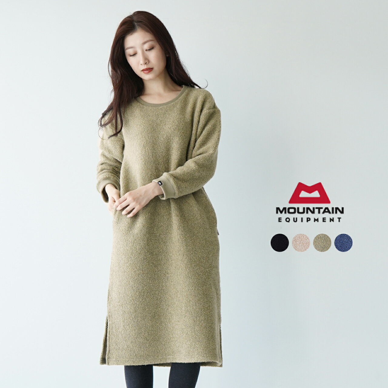 レディースファッション, ワンピース SALE30OFFMOUNTAIN EQUIPMENT WOOL BOA ONE PIECE 424712 1022SALE
