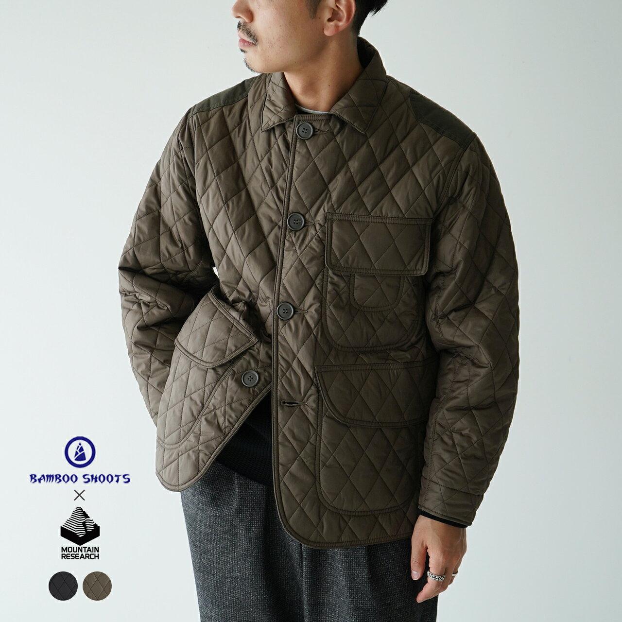 メンズファッション, コート・ジャケット SALE50OFF 200301M BAMBOO SHOOTSMOUNTAIN RESEARCH QUILTED HUNTING JACKET 1119SALE