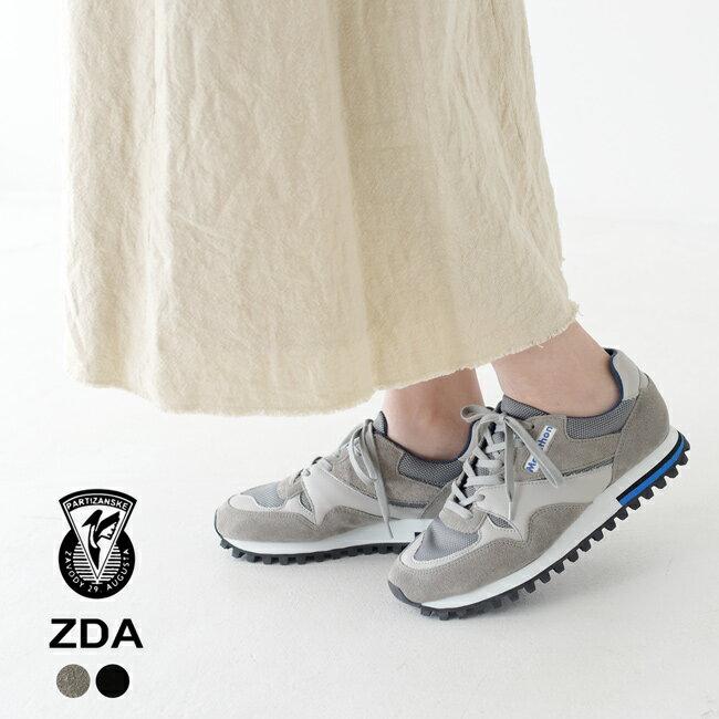 ゼットディーエーZDAマラソンMARATHONローカットレースアップレトロスニーカーシューズレディース2020春夏靴2400FSL23.0cm-25.0cm【送料無料】0403