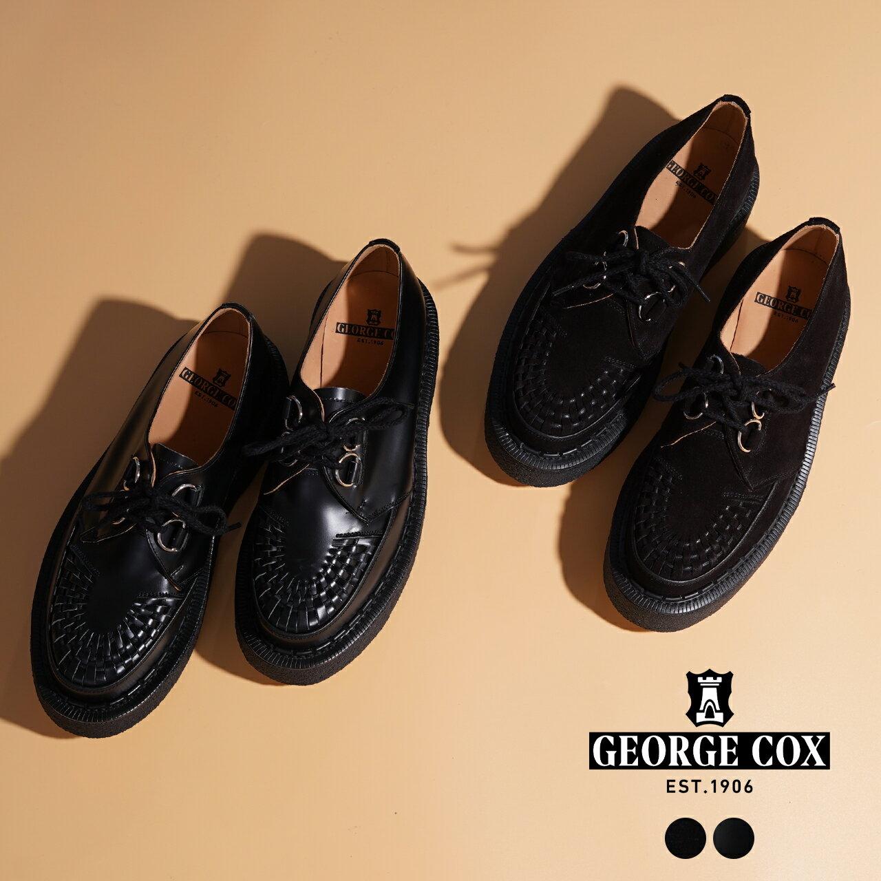 メンズ靴, デッキシューズ 10OFF GEORGE COX 3588 VI D RING GIBSON Creeper VI-SOLE 2021 1026