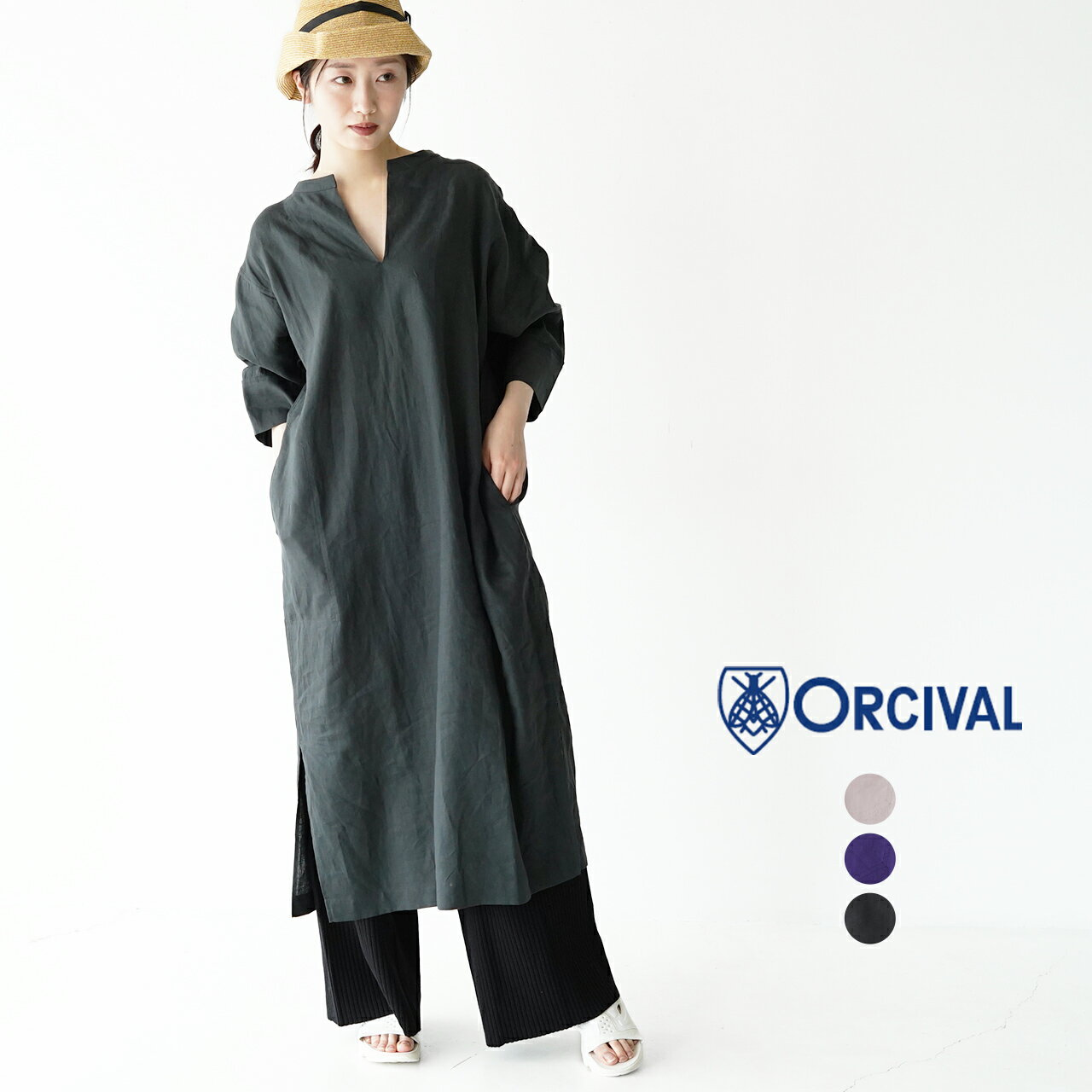 レディースファッション, ワンピース  ORCIVAL 2021 RC3796YLF 0414
