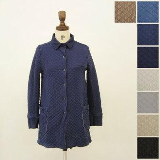 Armen Amen shirts collar coat with back vent and コットンキルティングシャツ color coat (new 2012 model) and nam1206 (8 colors) (M)