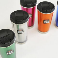 thermo mug(サーモマグ): コンパクトなのに大容量☆thermo mug サーモマグ スプラッシュプルー...