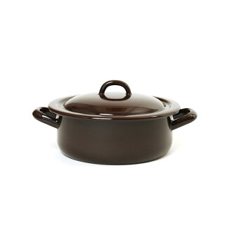RIESS lease stew pot 18cm 1.5L/ stew pot brown series .0239.0255