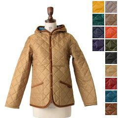 LAVENHAM(ラベンハム):とにかく軽くて暖かい、定番人気のフードキルティングジャケット【送料無...
