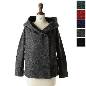winter salemao made(マオメイド):肉厚ウールと大きなフードで保温性抜群のジャケット【30%off...