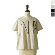 ポイント ロゴプリントワイド Tシャツ