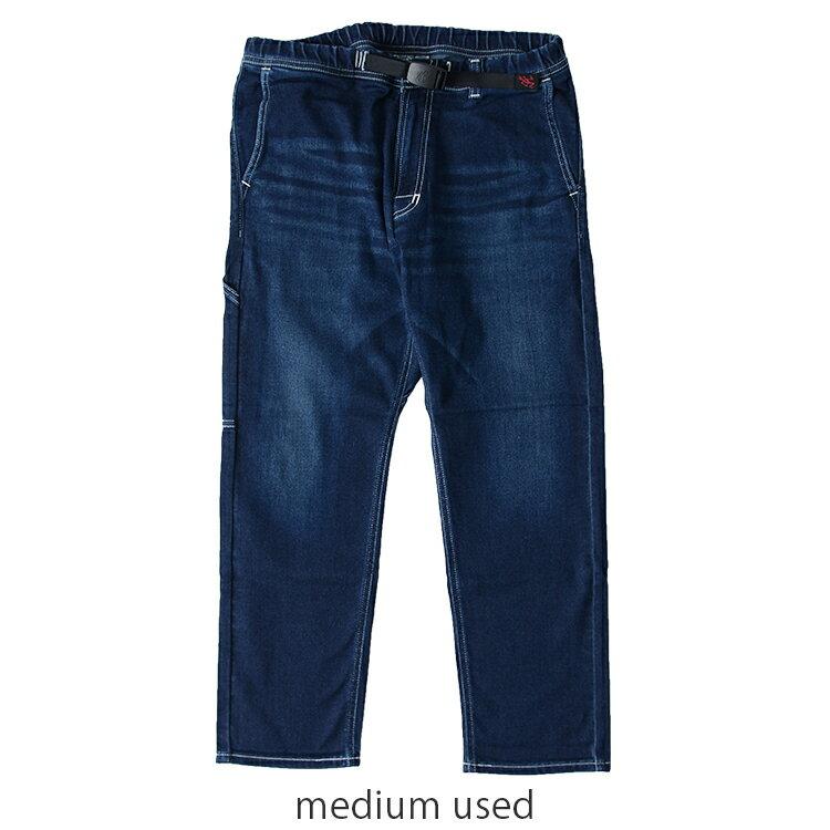 2017春夏新作 GRAMICCI×LEE グラミチ×リー KNIT DENIM SLIM PAINTER PANTS/ニットデニムスリムペインターパンツ スリムクロップドパンツ・gmp-17s110 (ユニセックス) #0518