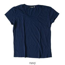 2017春夏新作CAL.BerriesカルベリーズASYBREEZYTEEクルーネック無地Tシャツ・3540j002【メール便可】#0303