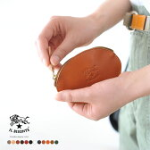 2017春夏新作 IL BISONTE イルビゾンテ 丸型ジップコインケース 財布 ・410069 #0604 【クーポン対象外】