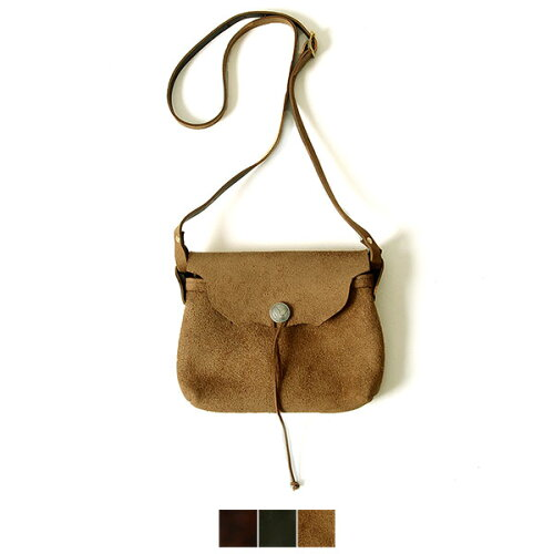Fernand Leather フェルナンドレザー Horizontal Concho Pouch(M)/レ...