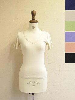 SIRENE mermaid シレーネマーメイド V Neck T shirt-mwab5039 (6 colors)