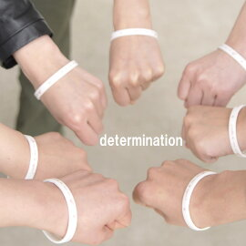 Croukaクローカ東日本大震災復興応援募金付きリストバンド