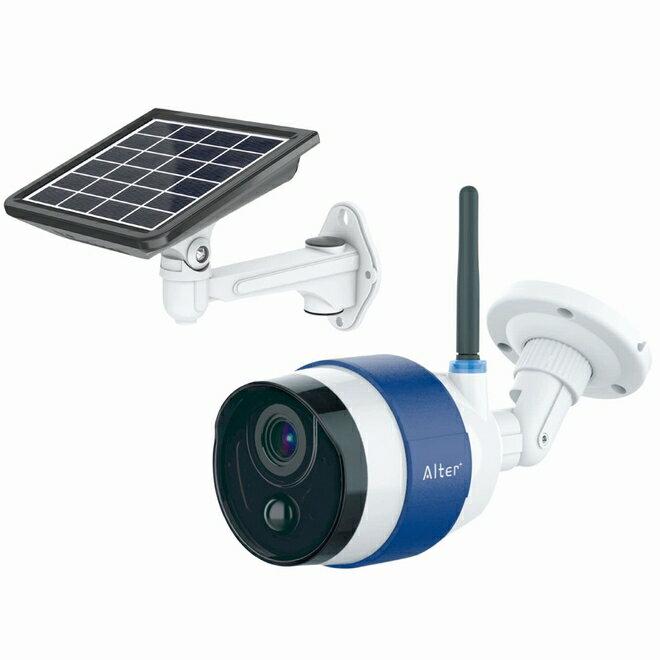Alter+(オルタプラス)『ソーラーバッテリーWi-Fiカメラ(AT-740)』