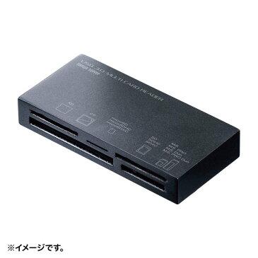 【メーカー直送】サンワサプライ USB3.1 マルチカードリーダー[ADR-3ML50BK] カラー:ブラック【送料別】【沖縄・離島は配送不可】SDメモリーカード microSDカード メモリースティック コンパクトフラッシュ xDピクチャーカード
