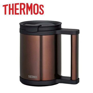 サーモス 真空断熱マグ 0.28L クリアブラウン [JCP-280C-CBW]【送料別】コーヒー用マグボトル 水筒 タンブラー 携帯コーヒーカップ ドリッパー フラップ付き
