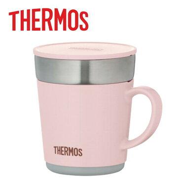 サーモス 保温マグカップ 0.24L ライトピンク [JDC-241-LP]【送料別】コーヒー用 マグボトル 水筒 タンブラー 携帯コーヒーカップ フラップ付き