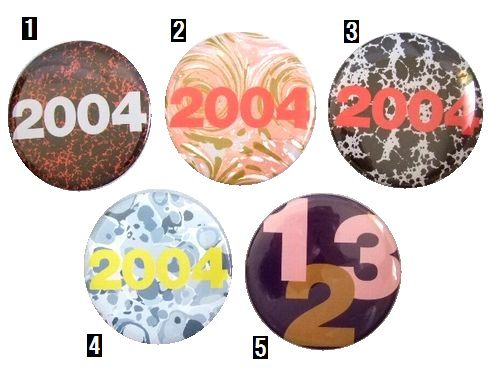 【未使用】 COMME des GARCONS SHIRT 2004 限定 缶バッチ (Can batch) コムデギャルソン シャツ カンバッジ 055179 【中古】
