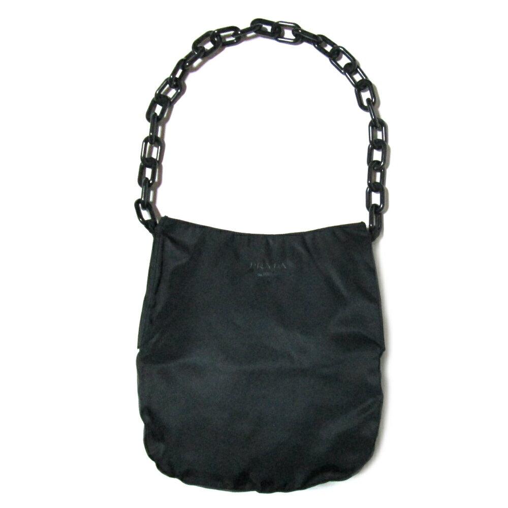 Prada Chain Bag Purse Red