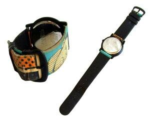 廃盤JeanPaulGAULTIERジャンポールゴルチエアメコミパターンウォッチ・腕時計(ゴルチェhommeフェム)071464【】