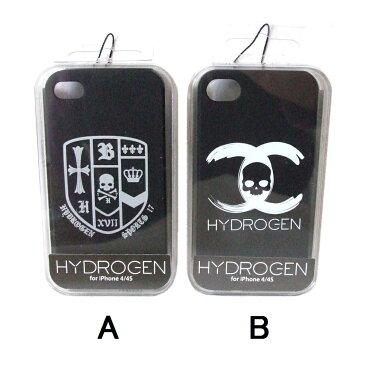【新古品】 HYDROGEN ハイドロゲン iPhone 4/4s対応スカルケース (ブラック 黒 携帯ケース スマートフォンケース) 100894 【中古】