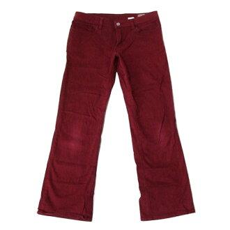 "Levi's李維斯""5M""滾柱是伸展褲子(胭脂)103173"