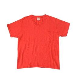 Goodwear グッドウェア ヘビーオンスポケットTシャツ (オレンジ 半袖 アメリカ) 107324 【中古】