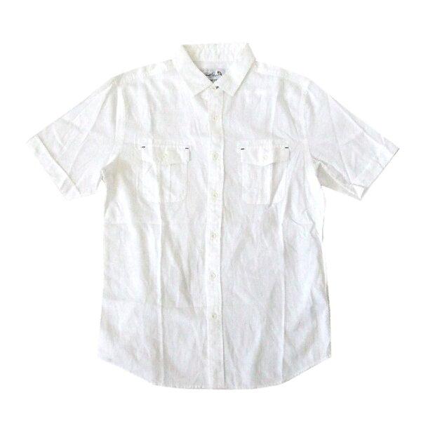 arnoldparmertimlessアーノルドパーマータイムレスデザインコットンシャツ(カッターシャツ鹿の子白)110937