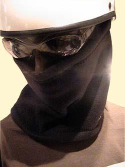 全9色 フリースネックウォーマー CROW フェイスマスク マスク バイク スポーツ スノボー 自転車 通勤 フリース ネックウォーマー【メール便可】