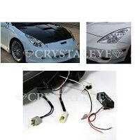 【送料無料・代引き手数料無料】クリスタルアイCRYSTALEYEZZT230系セリカCELICACCFLイカリングプロジェクターヘッドライトクロームタイプ