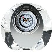 クリスタル世界時計 マロン ナルミブランド