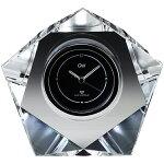 クリスタル電波時計 マクロス グラスワークスナルミ
