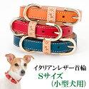 犬首輪/イタリアンレザー首輪