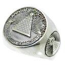 シルバー925 プロビデンスの目 リアル ピラミッド リング メンズ c2 [19号 21号] 万物を見通す目 フリーメイソン(指輪 真実の目 アンティーク アイ シンボル マーク フリーメーソン 都市伝説 シルバーアクセサリー)