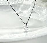 pt9000.5カラット一粒ダイヤモンドペンダント
