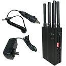 【迷惑通信/通話/追跡遮断!!!】電波妨害ジャマー!!!Wi-Fi、GPS、Bluetooth、3G、4G、PHSなどあらゆる無線通信に対応!!!