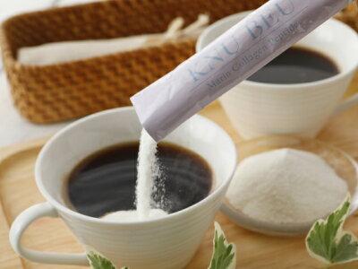 1日に1〜3包をコーヒーやお茶、ビタミン系ドリンクやスープなどお好みのものに溶かしてお召し上がりください。