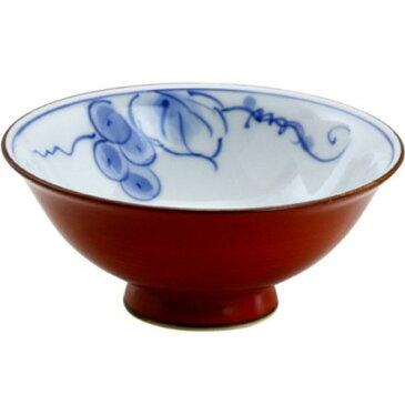 茶碗 : 有田焼 内花ぶどう 茶碗