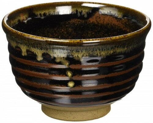 茶碗 : 有田焼 天目流し 反型抹茶碗(510cc)